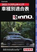 2021システムキャリア 車種別適合表 2021/1/1現在  INNO イノー